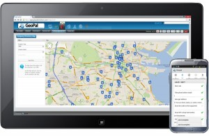 GeoPal mobile workforce productivity manager